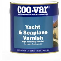 Coo-Var YACHT and SEAPLANE Varnish Gloss